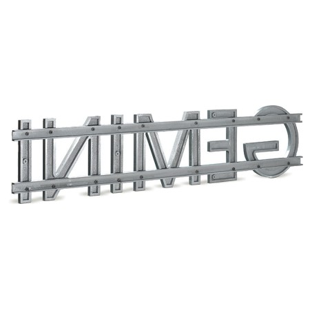 Image of 3a - Double Rail Mount for Cast Metal Letters