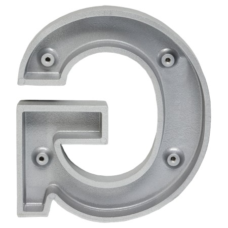 Images of gemini mounting options for Gemini Arial Bold Letters