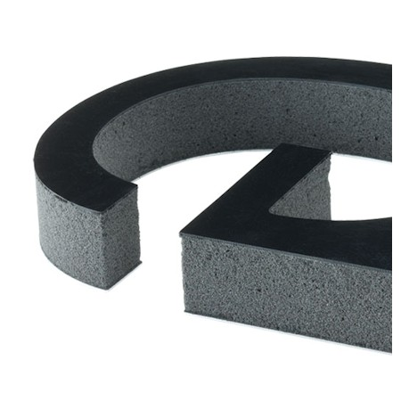 Images of mounting options for Gatorfoam Helvetica Bold Round Letters