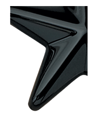 Image of Gemini formed plastic letter using Number 2025 Black CAB Renewal Plastic.
