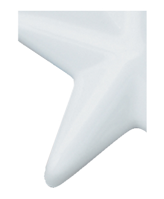 Image of Gemini formed plastic letter using Number 5687 White CAB Renewal Plastic.