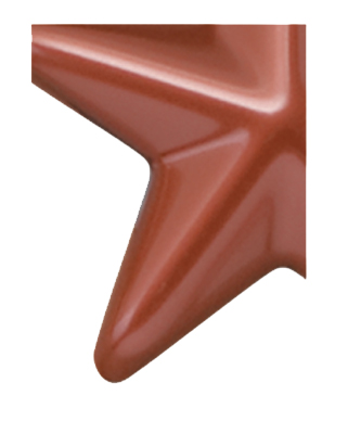 Image of Gemini formed plastic letter using Number 6366 Copper CAB Renewal Plastic.