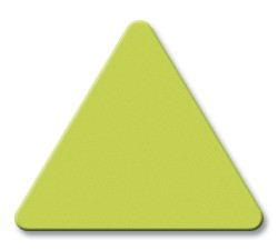 Image of Gemini Safety Green Acrylic Materials Number 8090.
