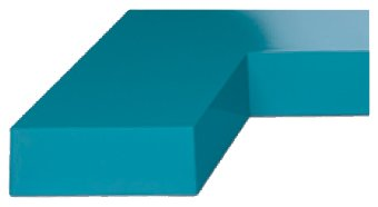Image of TEAL BLUE gemini paint No. 3210