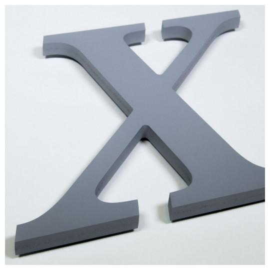 Image of our painted medex fiberboard letters