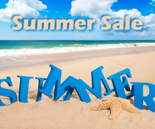 Summer Sale on all sizes and thicknesses of plastic and acrylic logos including 1 inch plexiglass wall graphics.