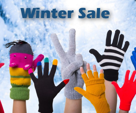 Winter Sale on all sizes and thicknesses of plastic and acrylic logos including 1/2 inch plexiglass wall graphics.